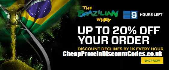 20% Off Discount Code For Myprotein