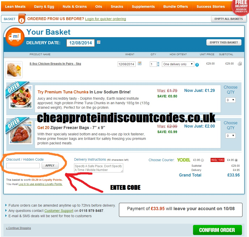 How to Use a Musclefood Discount Code