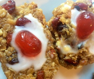 Cherry Bakewell Protein Oatmeal Recipe