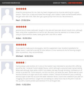 GoNutrition Solo Customer Reviews