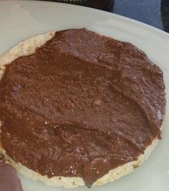 Peanut Butter Rice Cake Snack