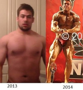 1 year nabba transformation