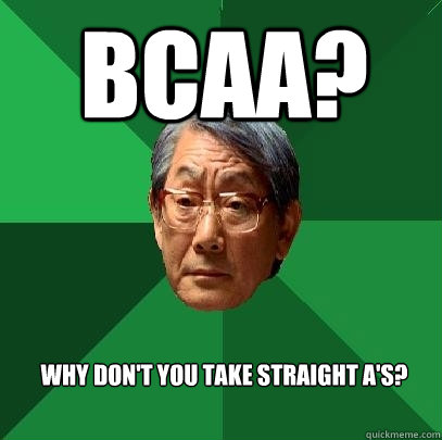 BCAA Funny