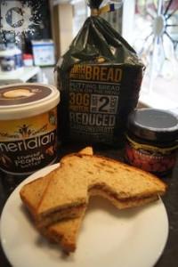 Protein Peanut Butter Sandwhich