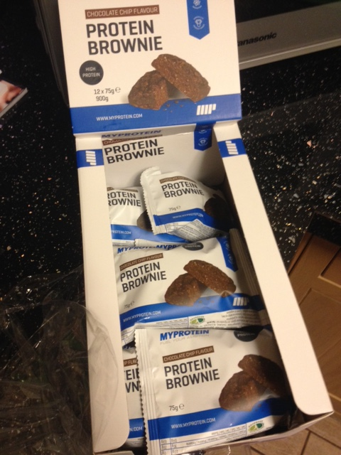 MyProtein Protein Brownies Review