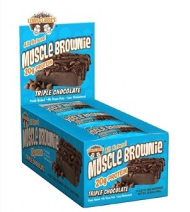 Lenny and Larry Muscle Brownies Macros