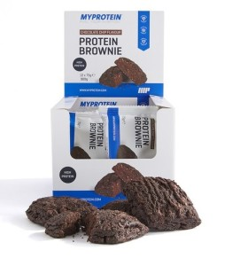 my protein protein brownies