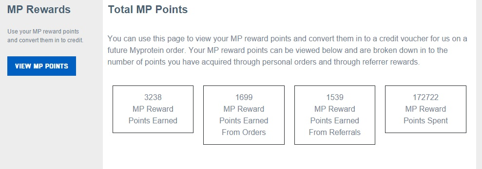 MP Reward Points