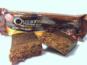 Chocolate Brownie Quest Bar Review