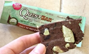 Quest Bar Mint Chocolate Chunk Review