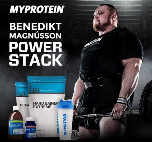 Benedikt Magnusson Supplements Stack