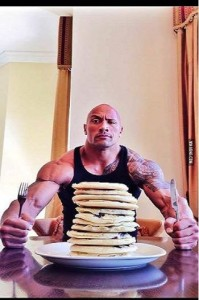 The Rock Pancakes