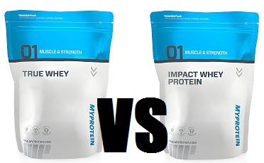 true whey vs impact whey