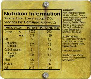 Grenade Hydra 6 Nutrition