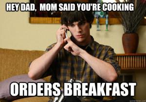 breakfast meme