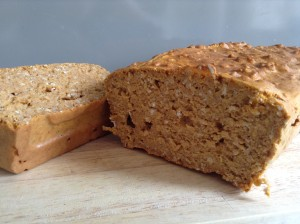 sweet potato protein loaf cake