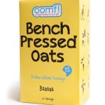 oomf banana bench pressed oats review