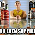 All in one supplement shake