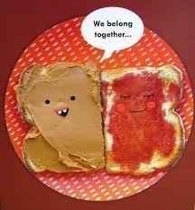 pbj couple sandwhich