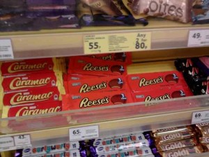 reeses in the SUpermarket