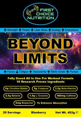 BEYOND LIMITS Preworkout