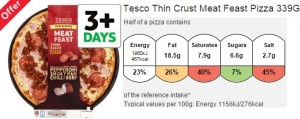 tesco pizza vs musclefood protein pizza