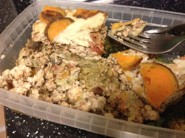 Muscle Food Turkey Lasagna Prepped Meals