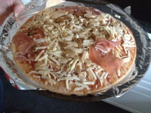 Muscle Food Protein Pizza Review - Mighty Meat