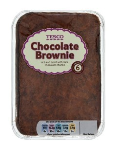 Tesco Brownie