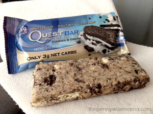 Cookies and Cream Quest Bar Review