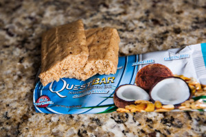 quest bar coconut cashew review