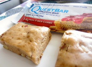 quest bar pb and j review